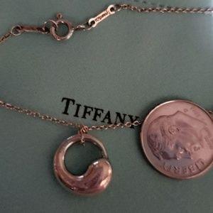 TIFFANY SMALL PERETTI CIRCLE PENDANT